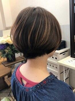 ヌーボヘアー(Nubo Hair)の写真/髪の悩みなど細かい部分までしっかりカウンセリング♪絶妙なカット技術で再現性◎の扱いやすいスタイルに。