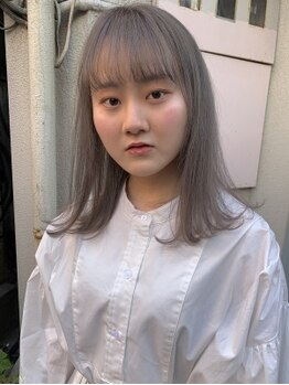 ジュノ 天文館本店(Juno)の写真/最旬カラーで女性の魅力を底上げ!一歩先ゆくオシャレをあなたに♪明るく染まる白髪染めも人気!