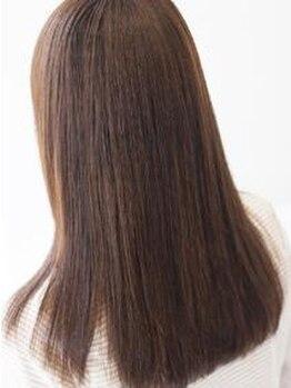 髪切処ICHI(カミキリドコロイチ)の写真/他店で伸びが悪い方もOK!まっすぐになりすぎない。それでいてしっかり癖は伸びている。持ちの良さも◎