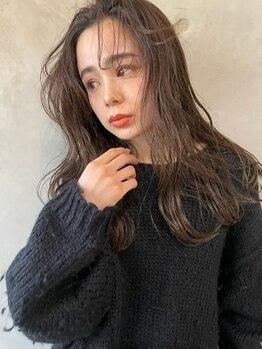 ソルトウォーター(SALT WATER)の写真/顔型・骨格に合わせてカットラインを細部まで計算。憧れの外国人風ヘアを貴方の髪に落し込む♪恵比寿3分♪