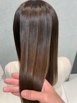 アース 浦安店(HAIR&MAKE EARTH)の写真/【プレミアムストレート】今までの縮毛矯正とは全く違う新技術!どこでもできる技術ではありません。
