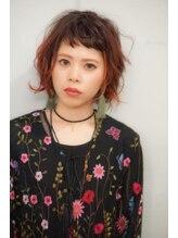 ヘアセラピー サラ(hair therapy Sara)【Sara..中澤祐輔】Redのグラデーションカラーで遊びを☆
