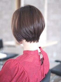 ヘアーメイクスタジオ ライフセカンド(HAIR MAKE STUDIO LIFE 2ND)の写真/LIFE式カットで髪1本までこだわる技術!!再現性を重視し、あなたの魅力を最大限に引き出します♪