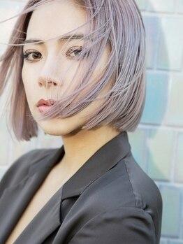 """ラキング(LA King)の写真/""""質感調整カット""""で創り出すヘアは、ファッションの一部。好バランス×ハイセンス!"""