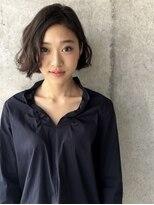 ウル(HOULe)大人女子に人気♪ニュアンスパーマボブ☆(コモダショウヘイ)