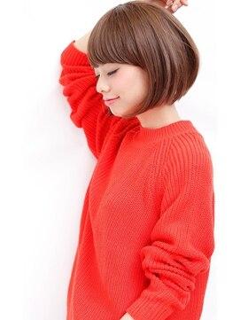 キャロル(CAROL)簡単スタイリングボブヘアスタイル