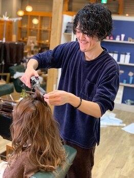 """ヘアーアンドライフ ピース(Hair&Life Peace)の写真/お客様1人ひとりのお悩みに合わせたヘアケアをご提案します◎サロン帰りの""""カワイイ""""が長続き…♪"""