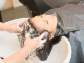 ルッカランス 王子店(Lucca Lance)の写真/【19時まで受付OK】極上Time★選べる香りの《オーガニックアロマスパ》で頭皮と心に癒しのひとときを…。