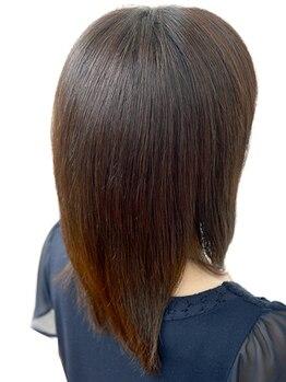 エーディーイー スガタ ヨーカドー静岡店(A.D.E sugata)の写真/【髪質改善!-5歳の髪印象】うねり/パサつき/ハリ・ツヤでお悩みの方にエイジングに特化した髪質改善MENU◎