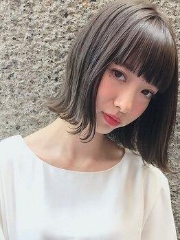 """アイニコ(ainico)の写真/《美しいカットライン×扱いやすいヘア》を実現。""""上質""""にこだわる本物志向の方も感動のカット技術。"""