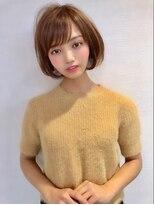 ロンド 表参道店(Lond)津賀雅也 大人可愛い丸みショートボブ☆小顔