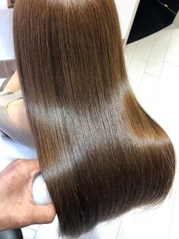 アミーベルレーヴ(AMI a BELLE Reve)の写真/【髪質改善専門店】全メニュー髪質改善☆カラーや縮毛矯正のダメージを極上ヘアケアで美髪へチェンジ!