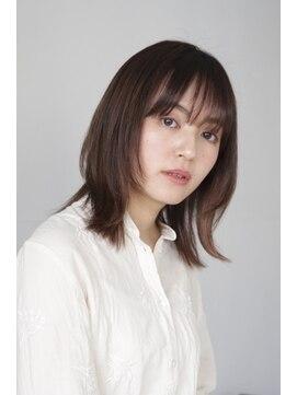 エヌ トーキョー(enu TOKYO)ナチュラルレイヤー ストレート
