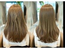 【髪質改善/美髪の厳選商材が当店のこだわり☆あなたの未来の美しい髪を提供します】
