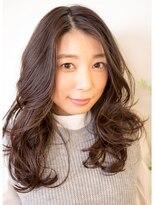 オーガニックサロン フェイス 梅田店(organic salon face)うるおいたっぷり大きめ美髪カールヘア