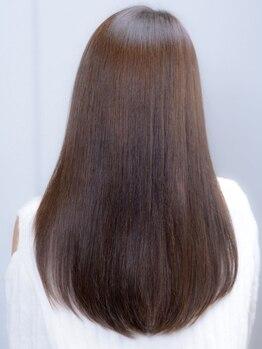 ヘアアンドケア エジェリラボ(hair&care egerie lab)の写真/【憧れのサラ艶ヘアに】髪質改善/縮毛矯正ならegerie lab。 栄養補給しながらの施術でダメージレスに艶髪へ