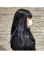 ビス ヘア アンド ビューティー 西新井店(Vis Hair&Beauty)10代20代大人かわいいインナーカラー×ブルーアッシュ♪
