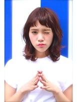 プレディカ(pledica)【pledica】重軽、眉上バング☆外ハネミディアム