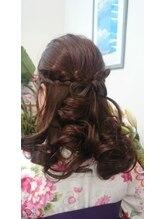 ヘアーアンドメイク ミサホ(hair&make MISAHO)卒業式のハカマスタイル