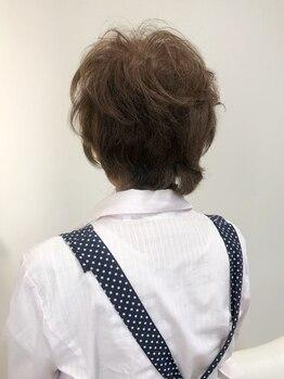 """クロスオリーブ(cross OLIVE)の写真/お客様の理想をカタチに、一人ひとりの髪質に合わせて薬剤を選定。イメージ以上の""""キレイ""""を叶えてくれる♪"""