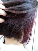 ソラ ヘアデザイン(Sora hair design)インナーカラーで大人女子