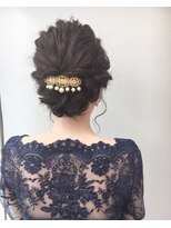 結婚式お呼ばれヘアセット