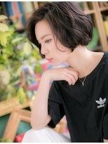 ■bliss上尾5-18★■黒髪がso cool !大人かわいいラフボブ