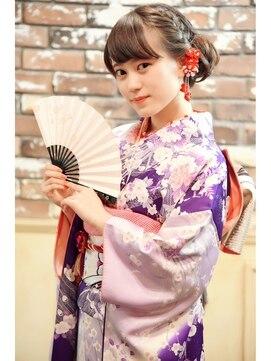 髪型 成人式髪型ロング編み込み : beauty.hotpepper.jp