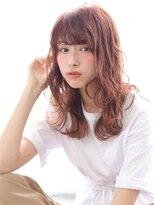 ヘアリゾート バレンタイン(hair+resort valentine)艶ピンクベージュ【valentine亀井】