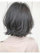 ヘアーサロン リアン 熊谷2号店(hair salon Rien)#ミニくびれボブ#透明感カラー