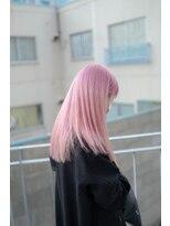 サイ(sai)【sai】white pink long