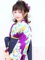 【ネオリーブクタ】卒業式 ヘアセット 着付2