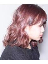 フォルカ ドゥ ヘアドレッシング(FORCA deux hairdressing)ピンクアッシュミディアムボブ