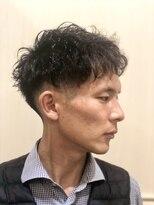 グレイスフル バーバープラチナム 六本木店(Graceful Barber platinum)【理容室】【メンズパーマ】アップバング 刈り上げ