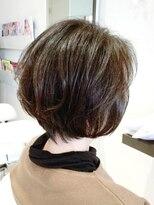 【AMAZING HAIR 美沢店/桜井】上品 ボリュームアップボブ