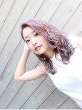 フォー バイ グランデ(for...by grande) 【glossy color】Nudie Pink ash