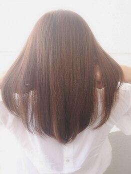 マインドヘアー(MiND HAiR)の写真/【人気No.1☆ウルティアTr¥4320】4stepトリートメントで髪質改善★傷んだブリーチ毛も見違える仕上がり♪