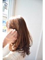 ルーモ(lumo)自然光に当たった髪色がさらにキレイ☆なオーガニックカラー