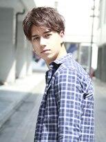 アルバム シンジュク(ALBUM SHINJUKU)ソフトツーブロックくせ毛風パーマライトアップショート_5668
