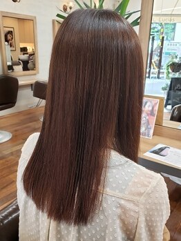 バンカウンシル ルキアス(VANCOUNCIL Lucias)の写真/髪の状態に合わせたケアでカラーダメージも防げる!女性staffが多く通いやすい雰囲気も◎[国分寺駅徒歩3分]