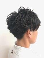 マインズリノ(MINDS LINO)毛先のカールが効いたパーマで大人爽やかスタイル