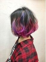 ヘアーアンドメイク ポッシュ 新宿店(HAIR&MAKE POSH)*グラデーションカラーpink&purple