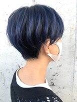 レーヴ(Reve)short bob × navy blue color【レーヴ】