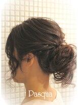 ヘアセットサロン パスクア(Hair Set Salon Pasqua)楽々お団子ヘアー