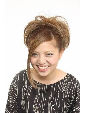 ヘアーアンドメイクアップ エムケイ(hair&make up MK)♪ふわふわカールのフルアップスタイル♪ by MK