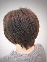 クール ヘアー ギャラリー 神明町店(COOL Hair gallery)ショートスタイル 美シルエット