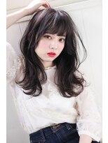 イロドリ ヘアーデザイン(IRODORI hair design)IRODORI 大人可愛い♪暗髪セミロング [西尾一寛]