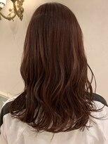 ヘアーサロン リアン 熊谷2号店(hair salon Rien)ピンクベージュ