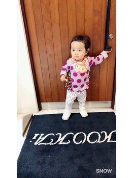 クーカイ ヘア ワークス(Kookai hair works)の写真/【お子様同伴大歓迎☆】いつも忙しいママもお子様と一緒にぜひご来店ください♪