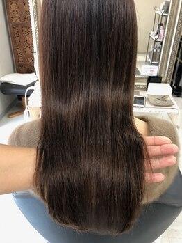 エッセンシャルヘアケア アンド ビューティー(Essential haircare & beauty)の写真/『硬くなった髪の毛が柔らかく?!』話題の、TOKIO髪質改善ストレートで感動の体験を…憧れの髪質へ★